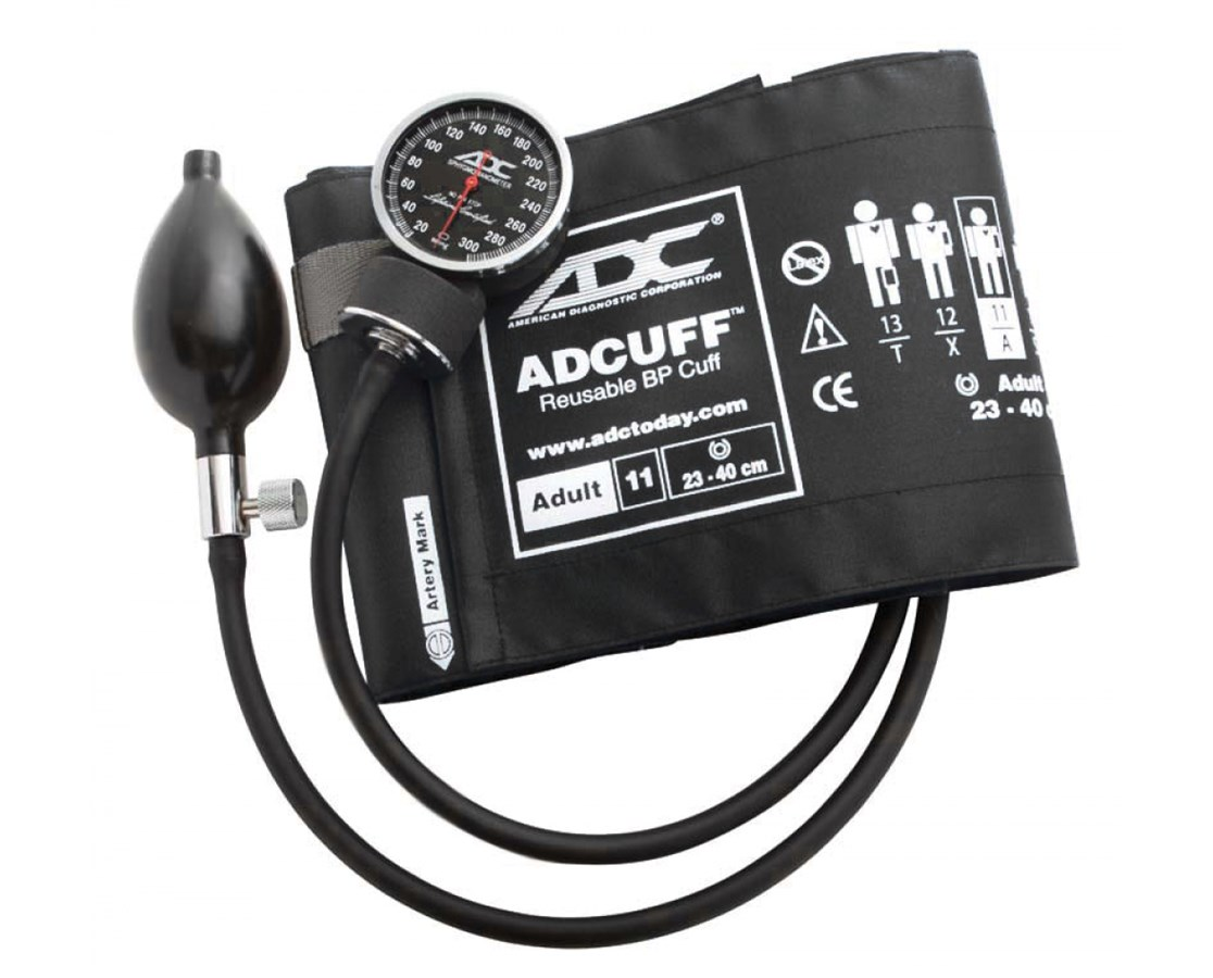 Diagnostix™ Pocket Aneroid, Choice of Manometer, Color, and Size ADC700