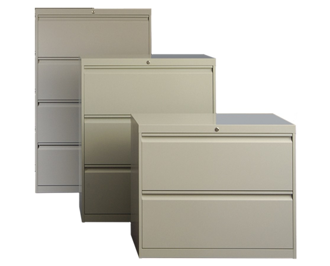 800 Series Lateral File Cabinets with Drawers ADE802-30L-