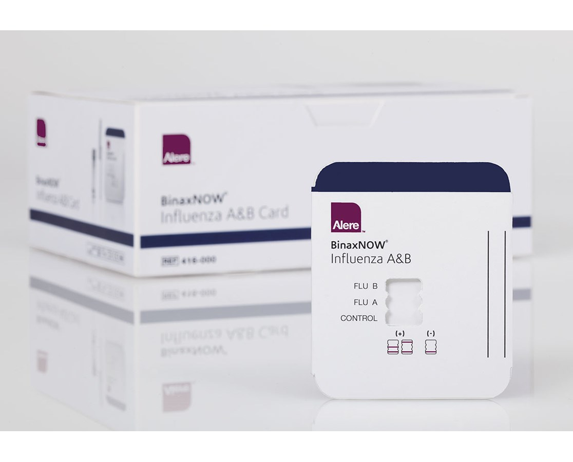 BinaxNOW® Influenza A & B Test Kit ALE416-000