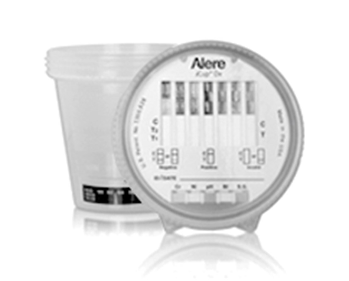how to use alere drug test