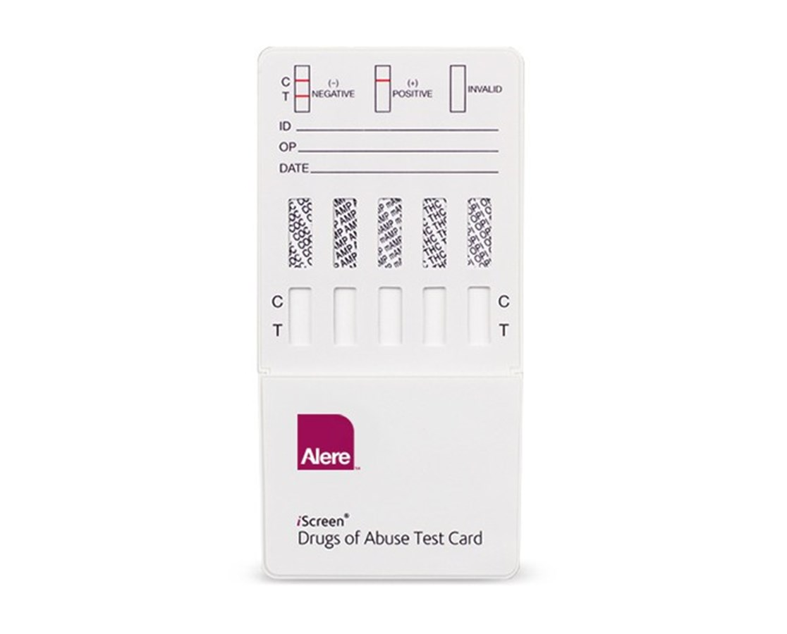 Iscreen® Dip Card - 2 Drug Tests ALEIS2 CT DIP-