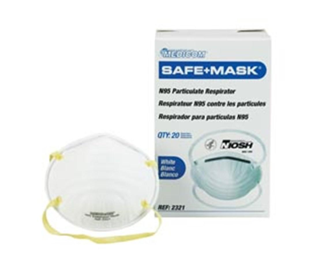 Safe Mask - N95 Respirator Mask AMR2321-