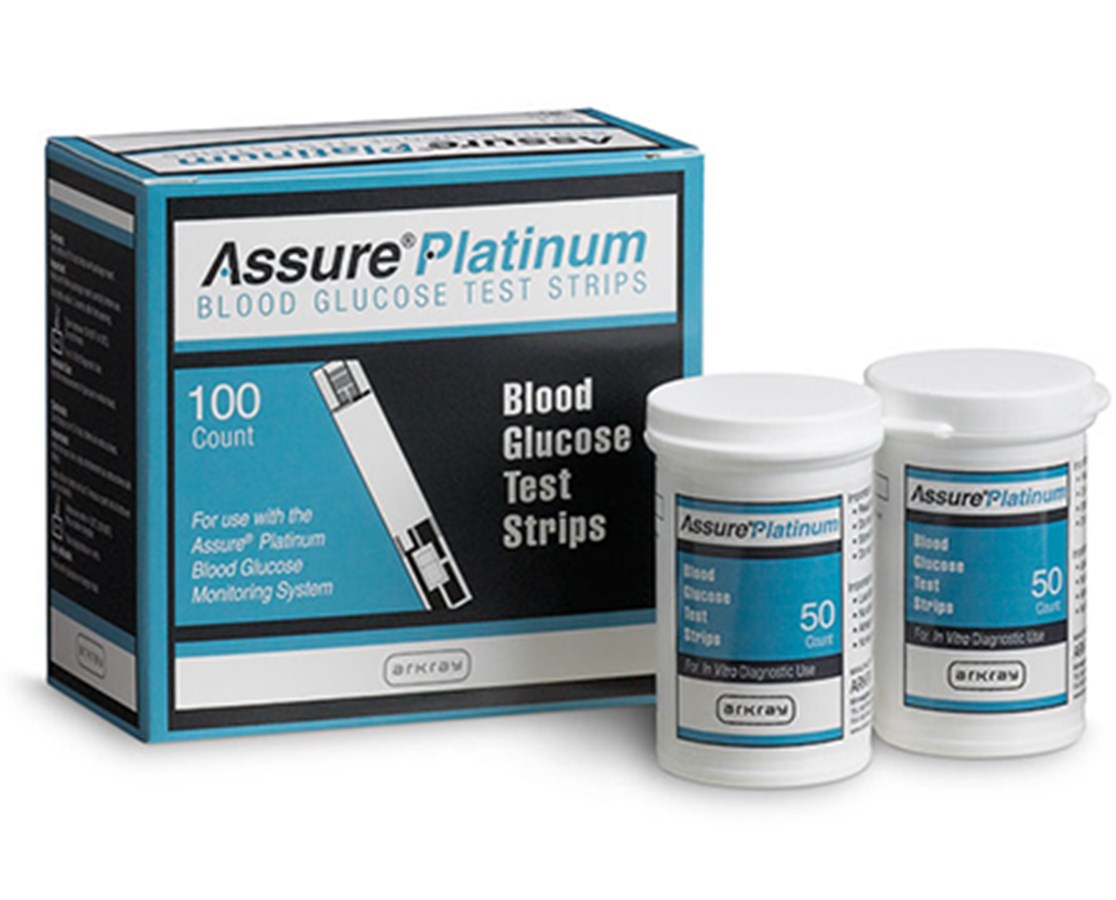 Assure Platinum Test Strips for Assure Platinum Blood Glucose Meter ARK500050-