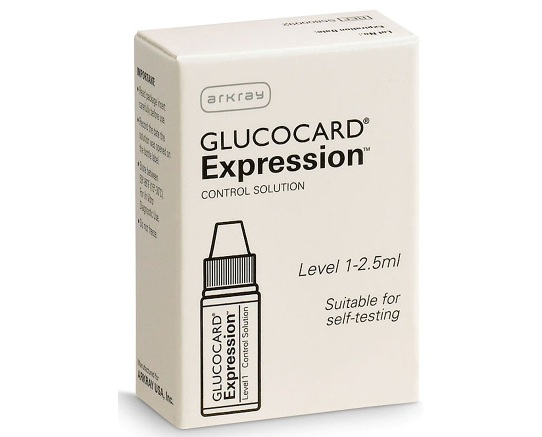 GLUCOCARD Expression Control Solution for GLUCOCARD Expression Meter ARK570005