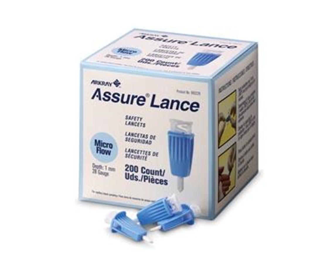 ASSURE® Lance Lockout Safety Lancets AKR980225