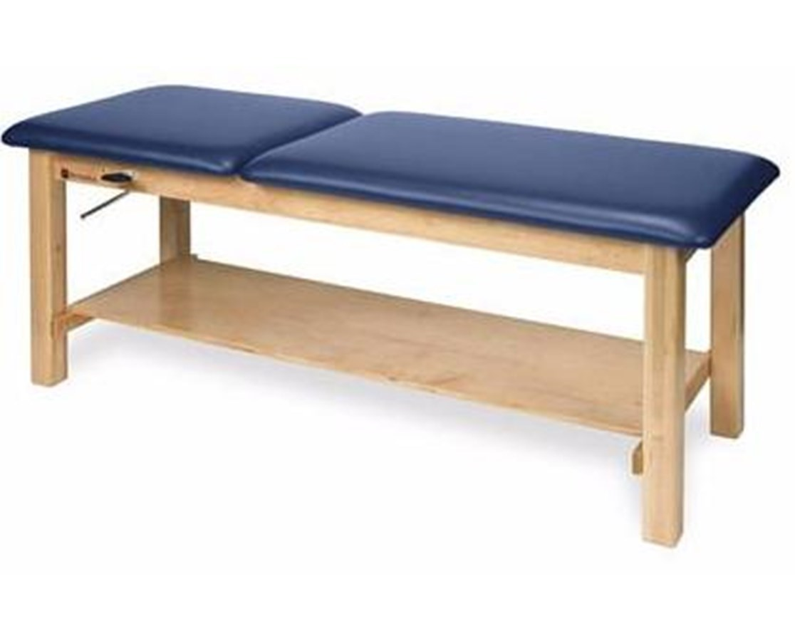 Wood Treatment Table with Adjustable Backrest & Storage Options ARMAM616-