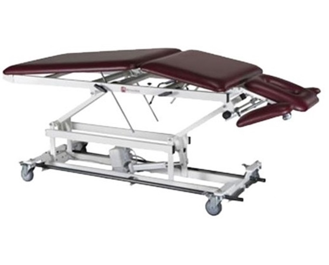 Hi-Lo Treatment Table with Elevated Center Section & Tilt / Adjustable Armrests Options ARMAMBA505-