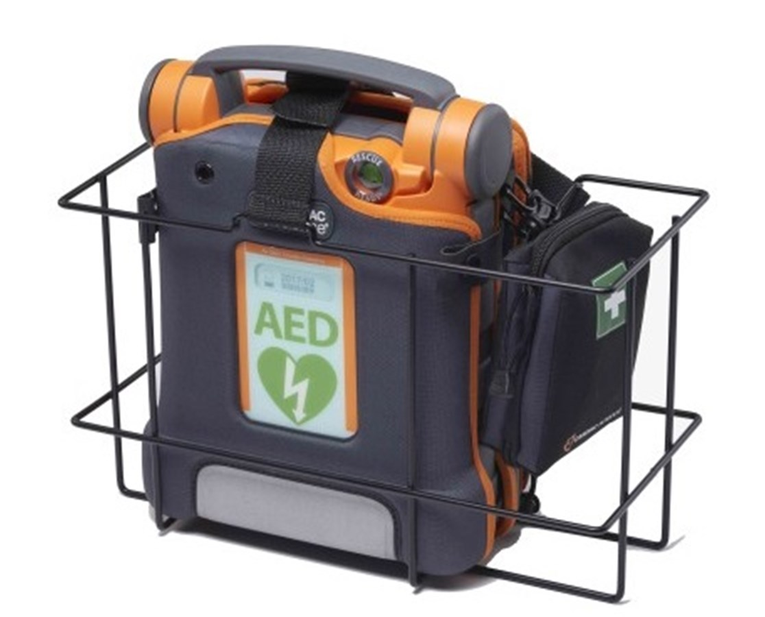 Powerheart AED Wall Storage Basket with Belt CAR170-2152-001