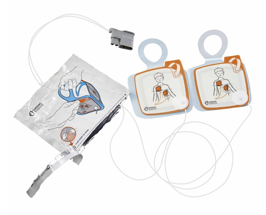 Pediatric Defibrillation Pads for Powerheart G5 AED CARXELAED003A