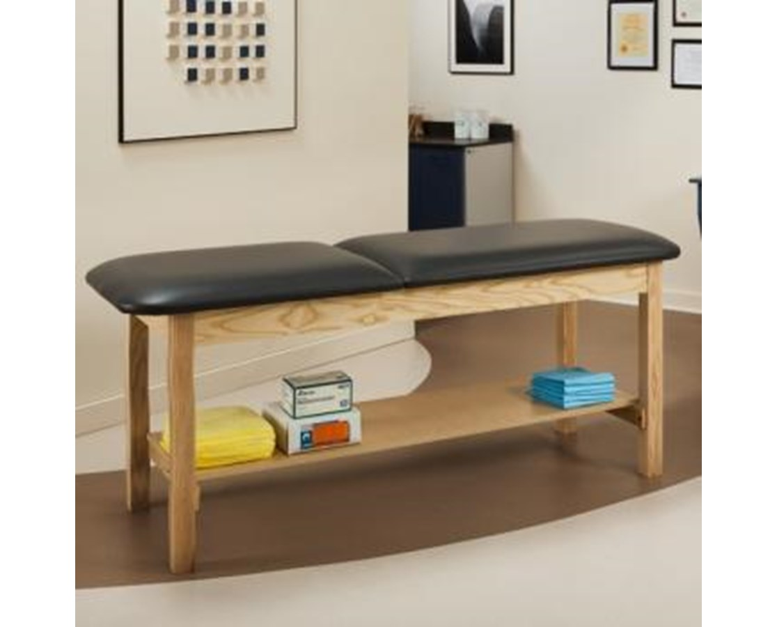 Clinton 1020 ETA Alpha Series Treatment Table with Full Shelf