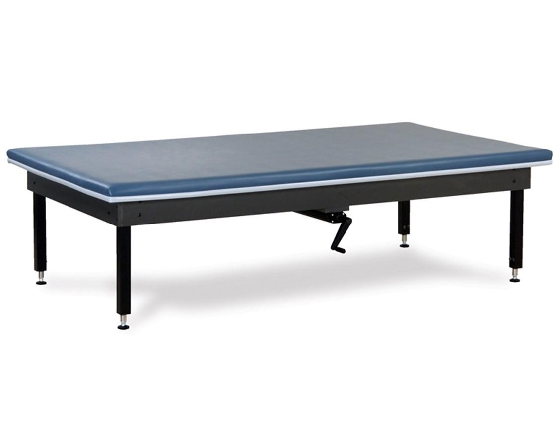 Hand-Crank Hydraulic Hi-Lo Mat Therapy Table CLI251-47-
