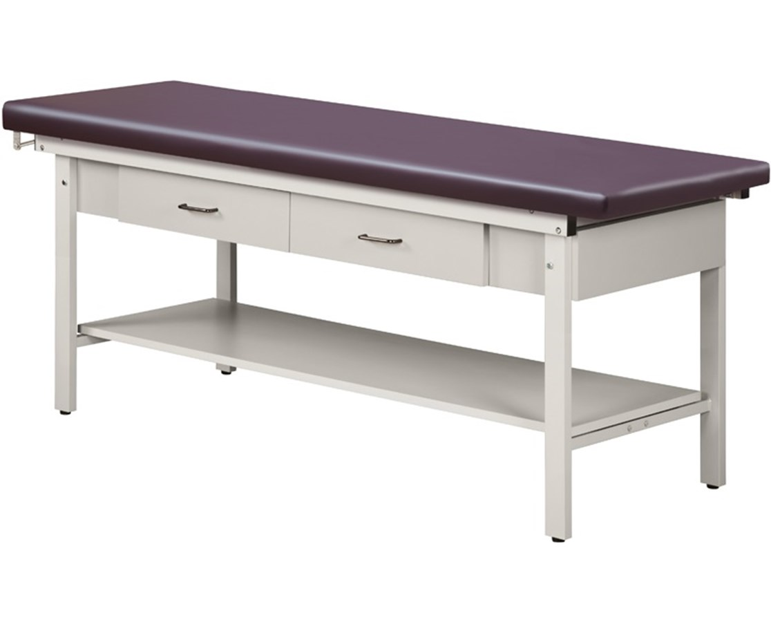 Flat Top Classic Series Straight Line Treatment Table CLI100-24