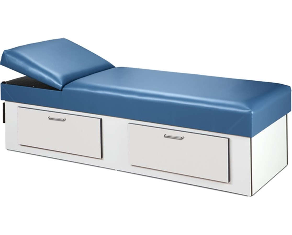 Clinton 3713 Apron Recovery Couch with Drawers