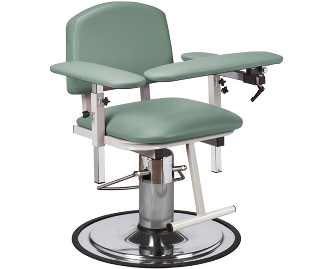 H Series Padded Blood Drawing Chair with Padded Arms CLI6310