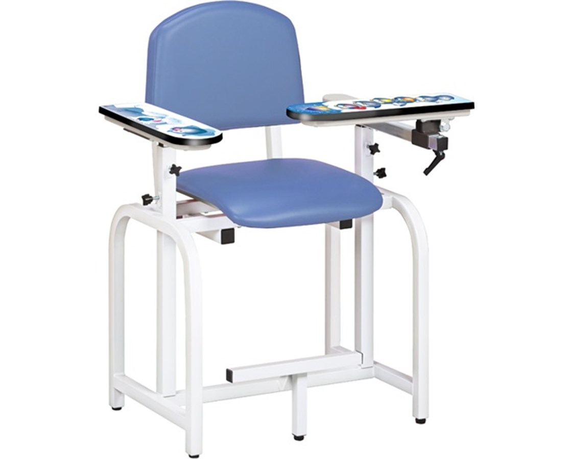 Pediatric Blood Drawing Chair - Arctic Circle Graphics CLI66011-AC