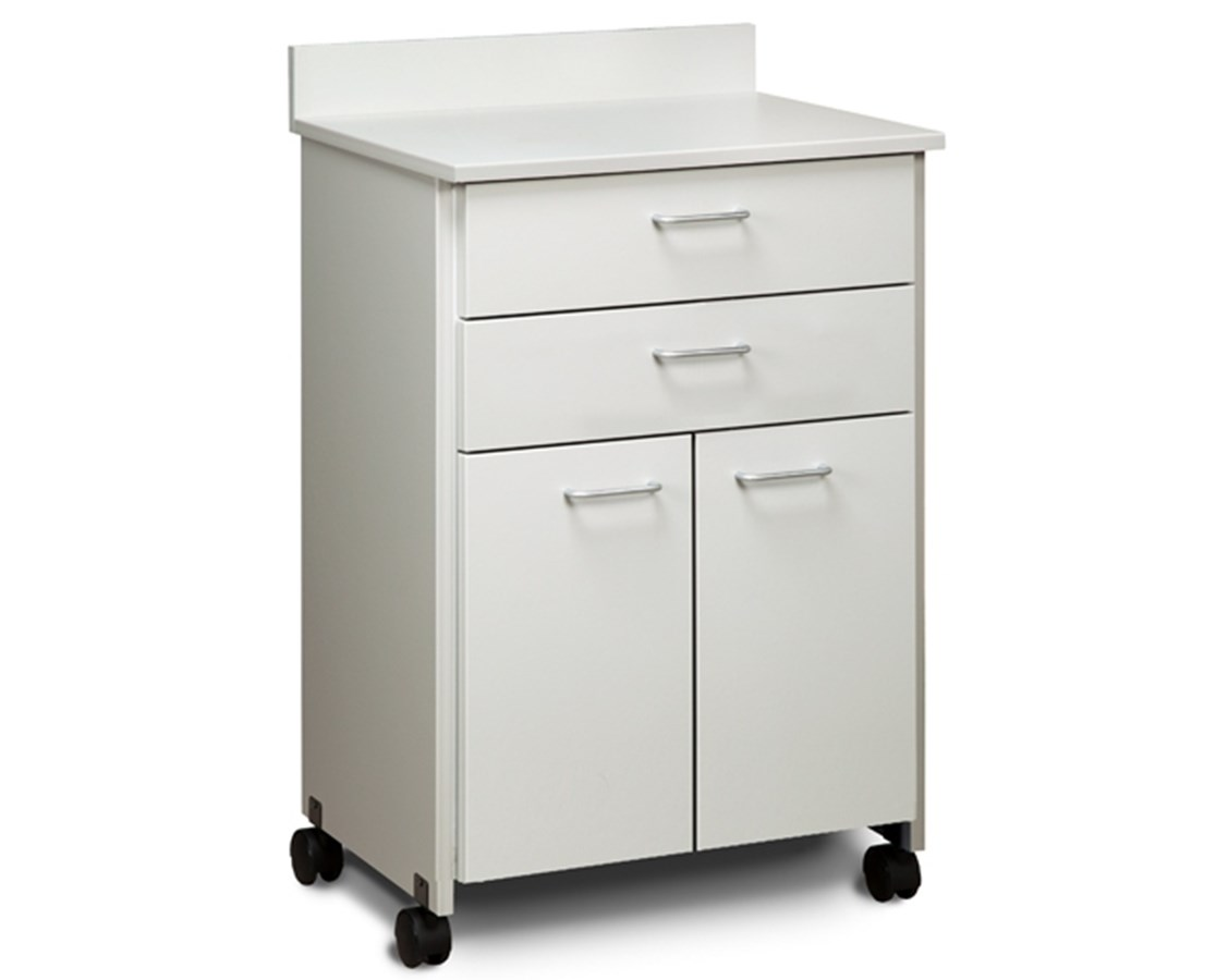Clintonclean™ Mobile Treatment Cabinet with 2 Doors & 2 Drawers CLI8922-P