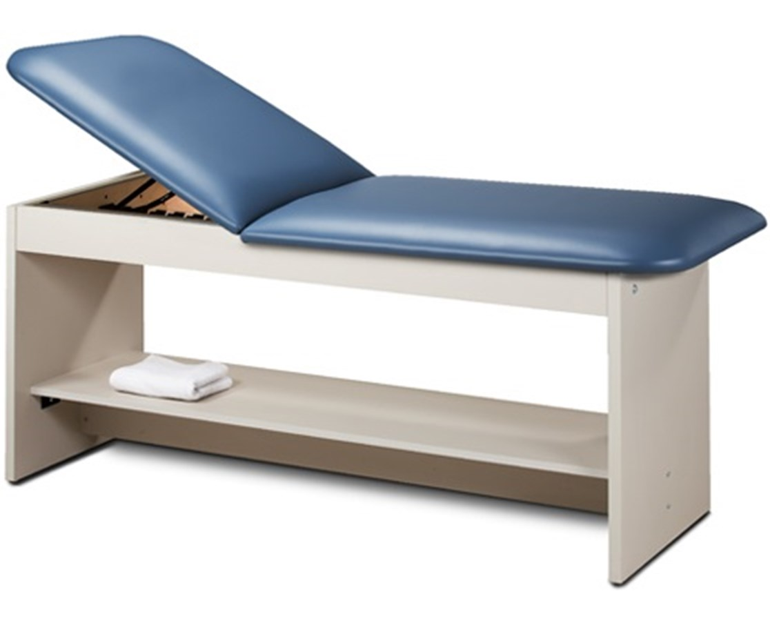 Clinton 9020 ETA Style Line Series Treatment Table with Shelf