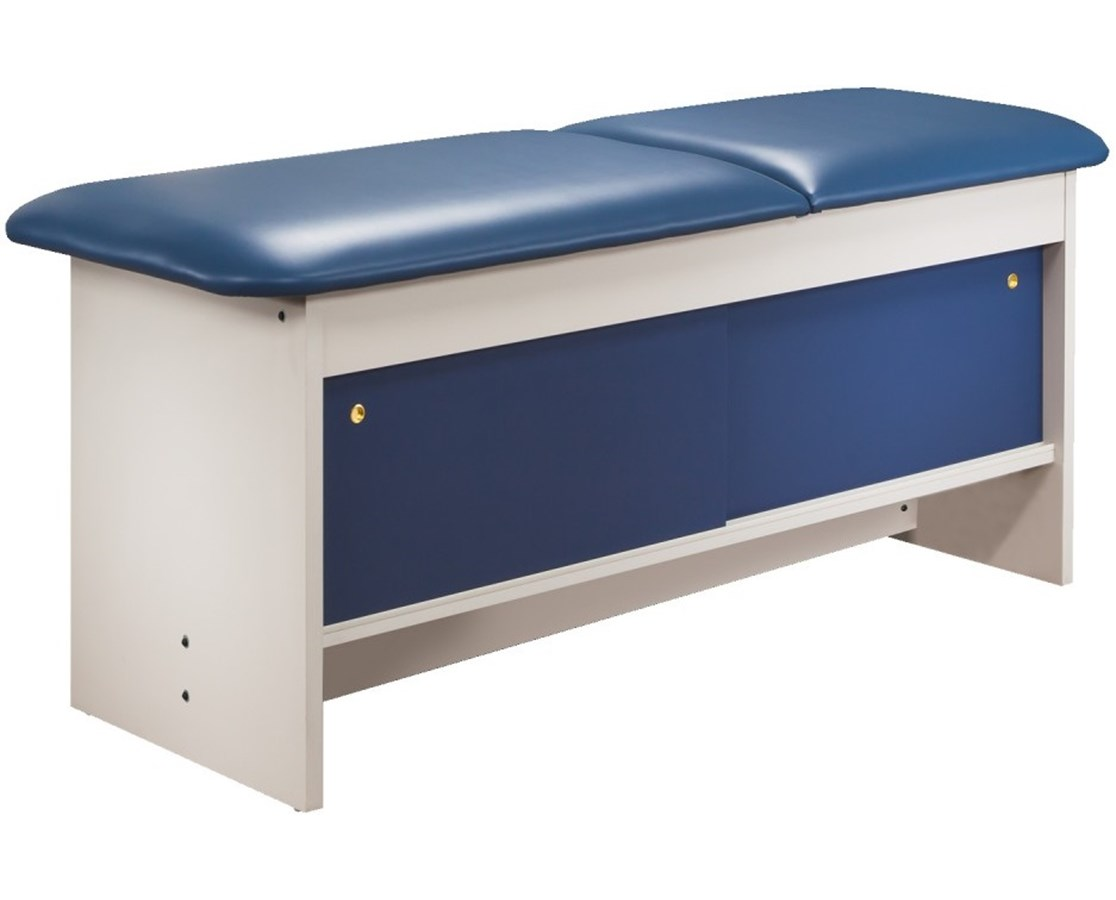 Clinton 9070 Cabinet Style Treatment Table with Four Sliding Doors