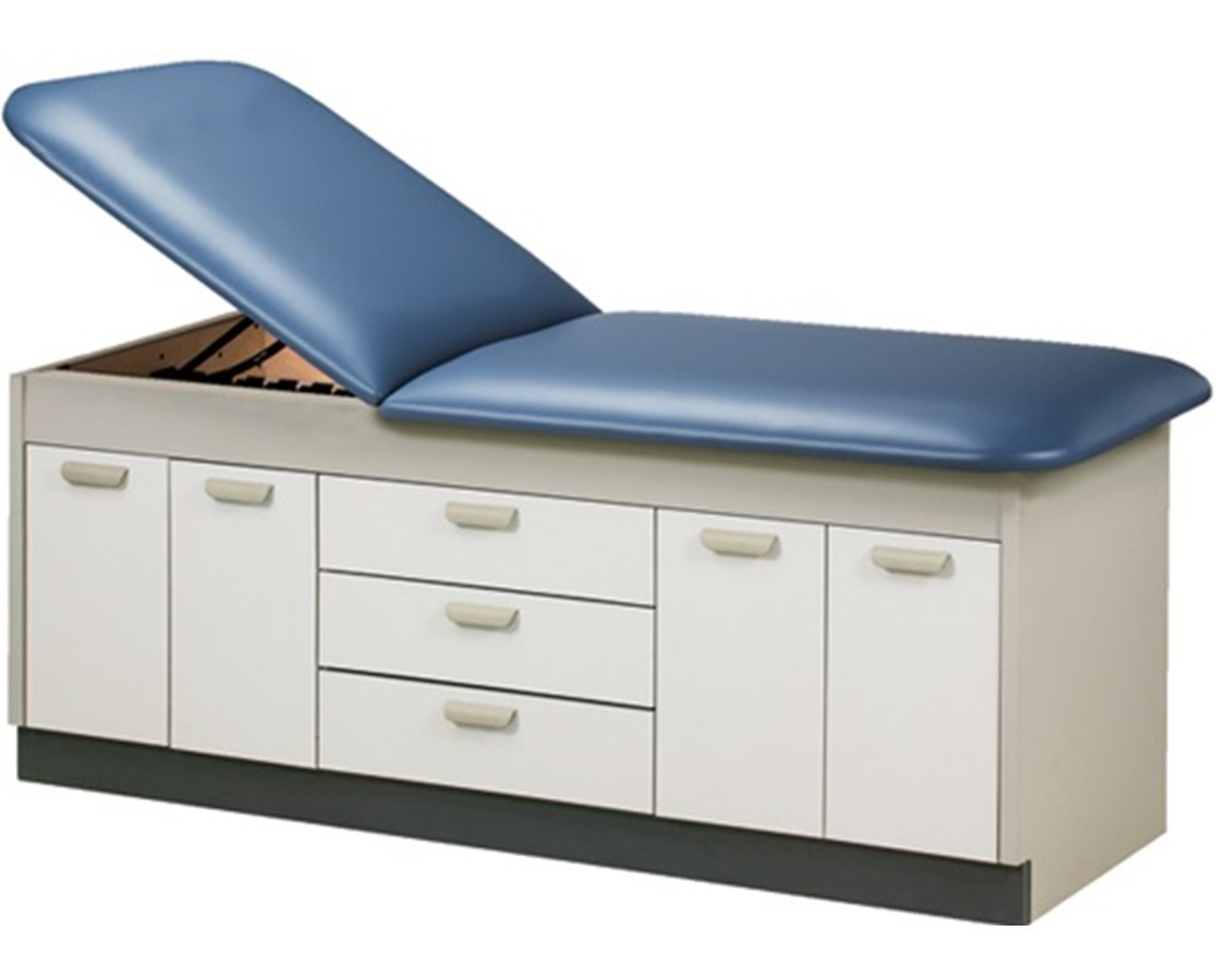 Clinton 9107-38 Style Line Cast Table with Doors & Drawers