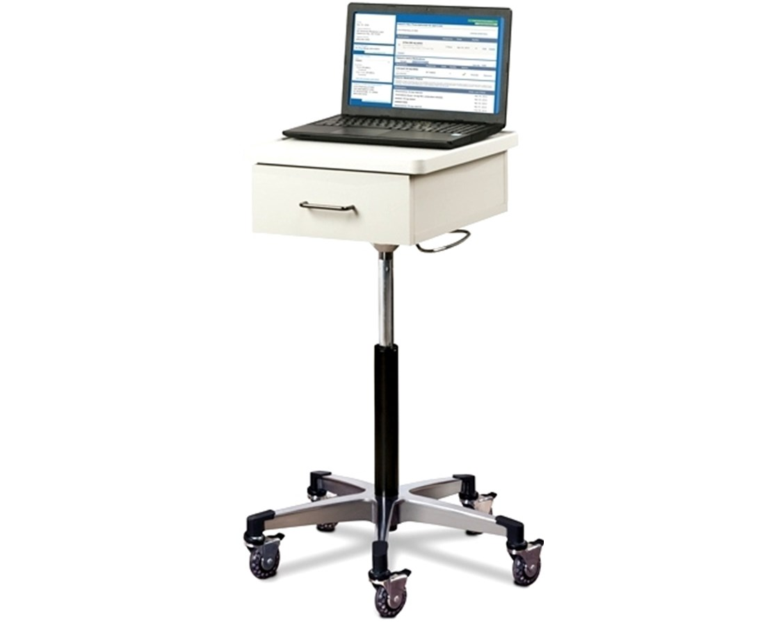 Compact Tec-Cart™ Mobile Work Station with Drawer CLI9800