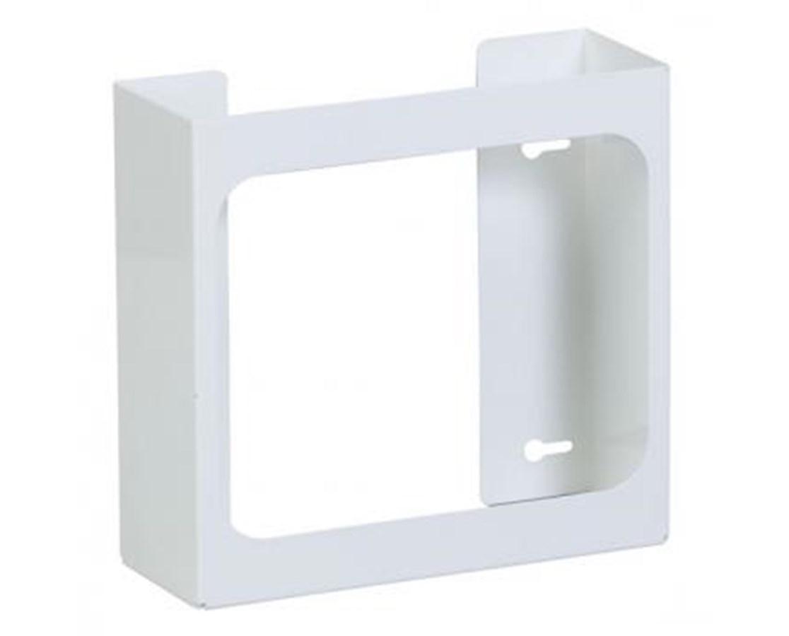 Clinton GW-2000 Single White Steel Glove Box Holder