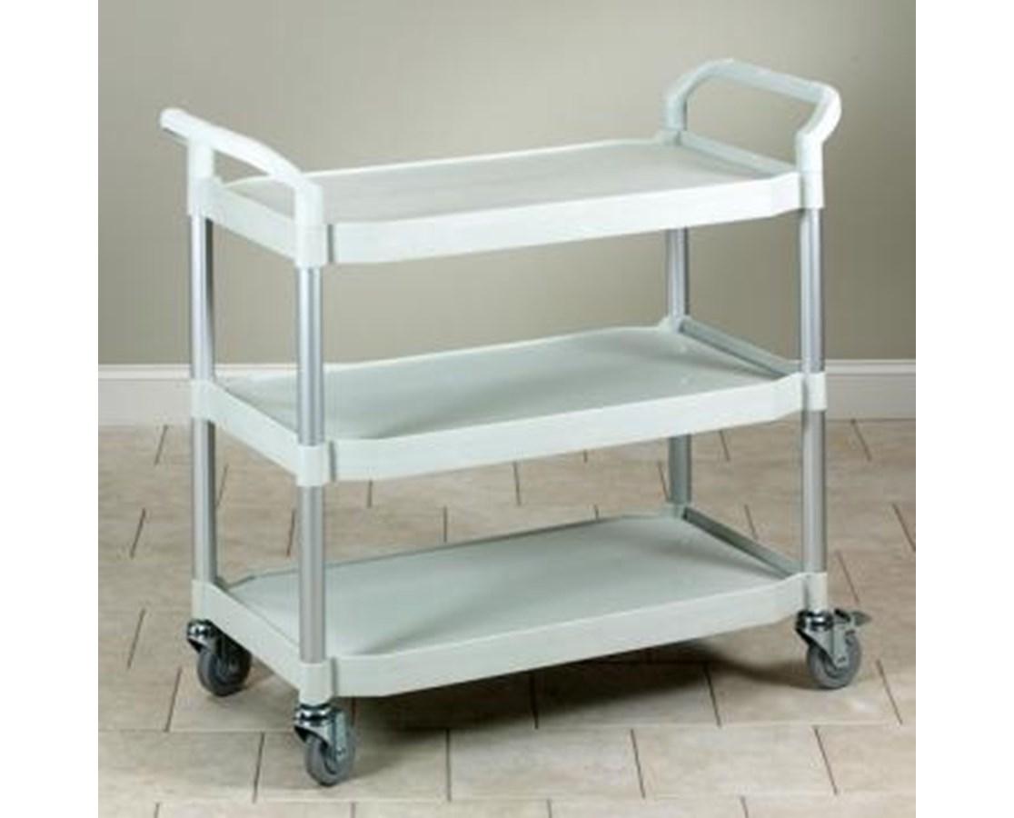 Large Premium Beige Plastic Utility Cart TC-70