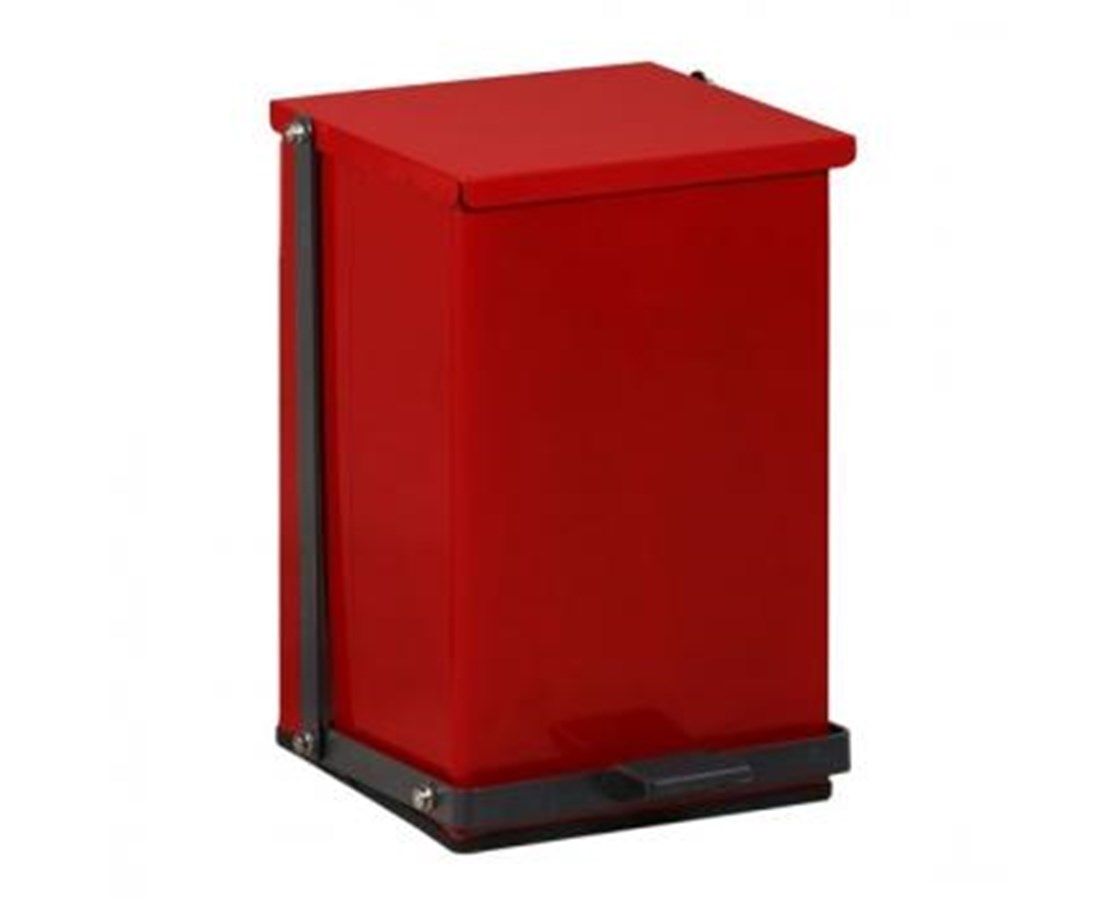 24 Quart Premium Red Waste Receptacle CLITP-24R