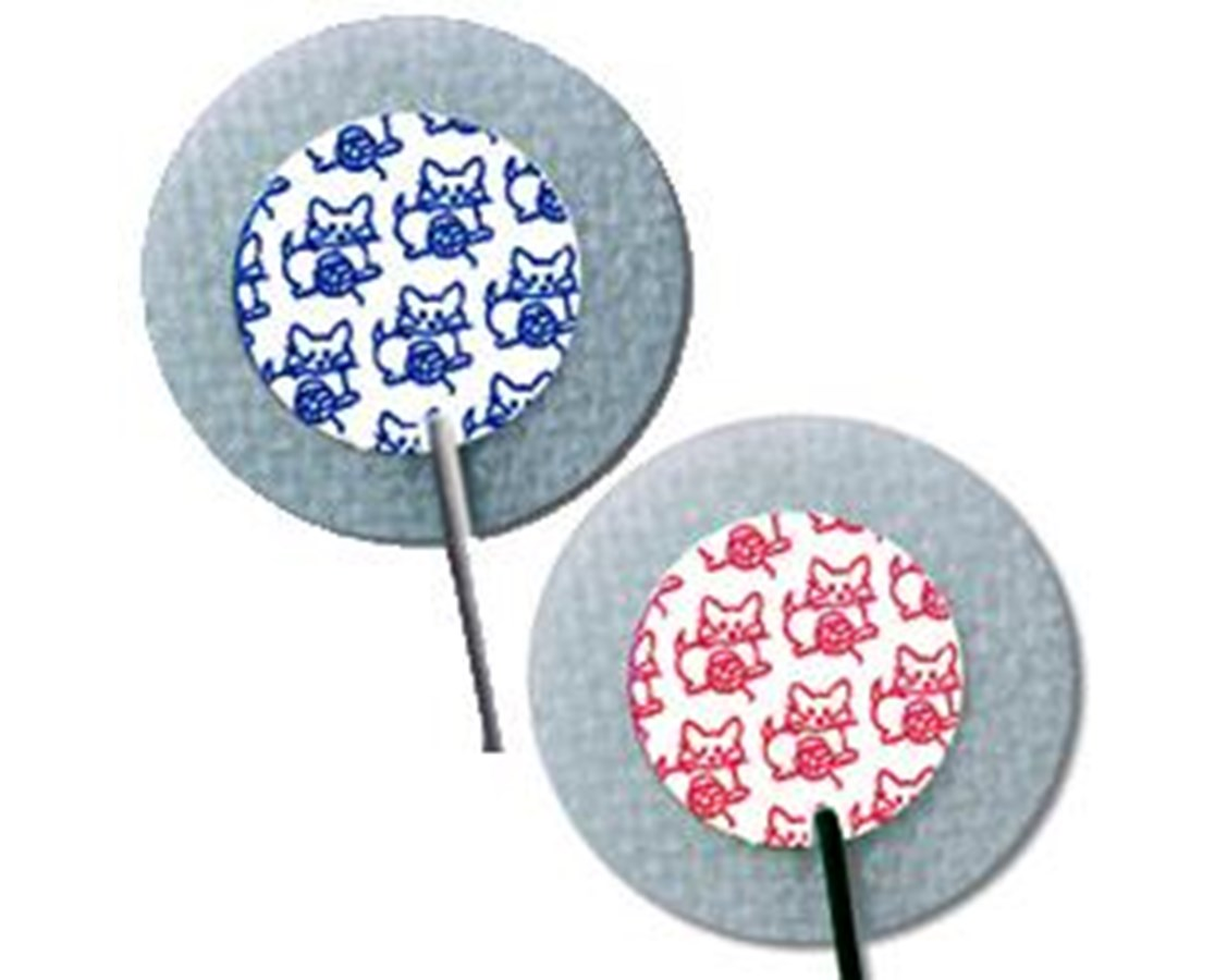 MEDI-TRACE™ KITTYCAT™ Pre-Wired Neonatal Cloth Electrodes, Case COV31424768