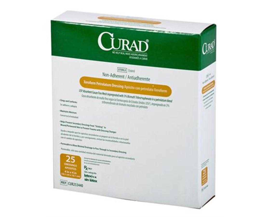 Fifth image of Xeroform Dressing Cpt Code with Curad Sterile Xeroform Gauze Dressing - Save at Tiger ...
