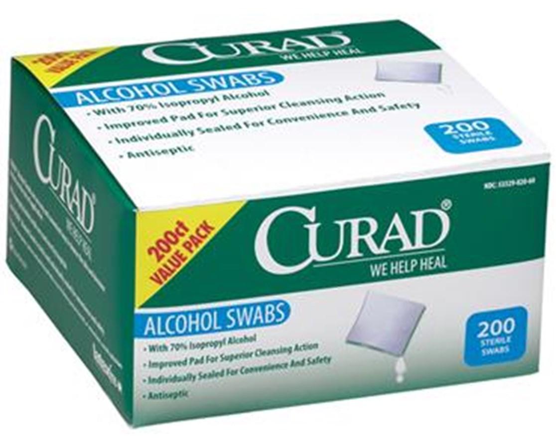 Alcohol Swabs CURCUR45581