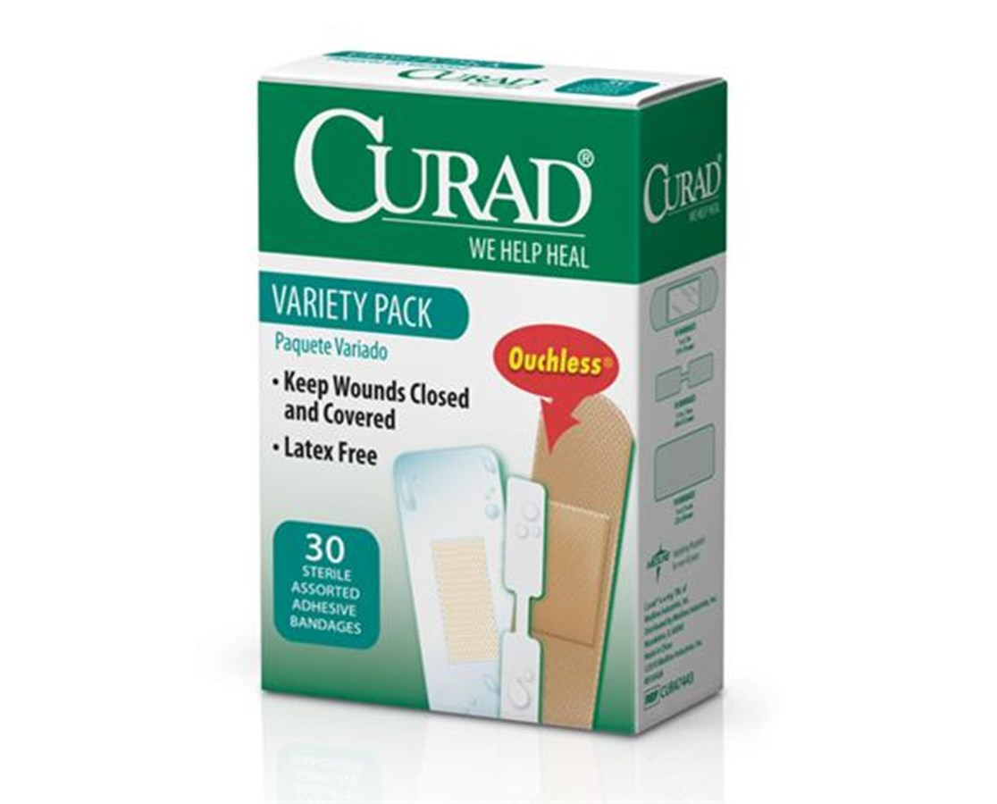 Variety Pack Adhesive Bandages CURCUR47443
