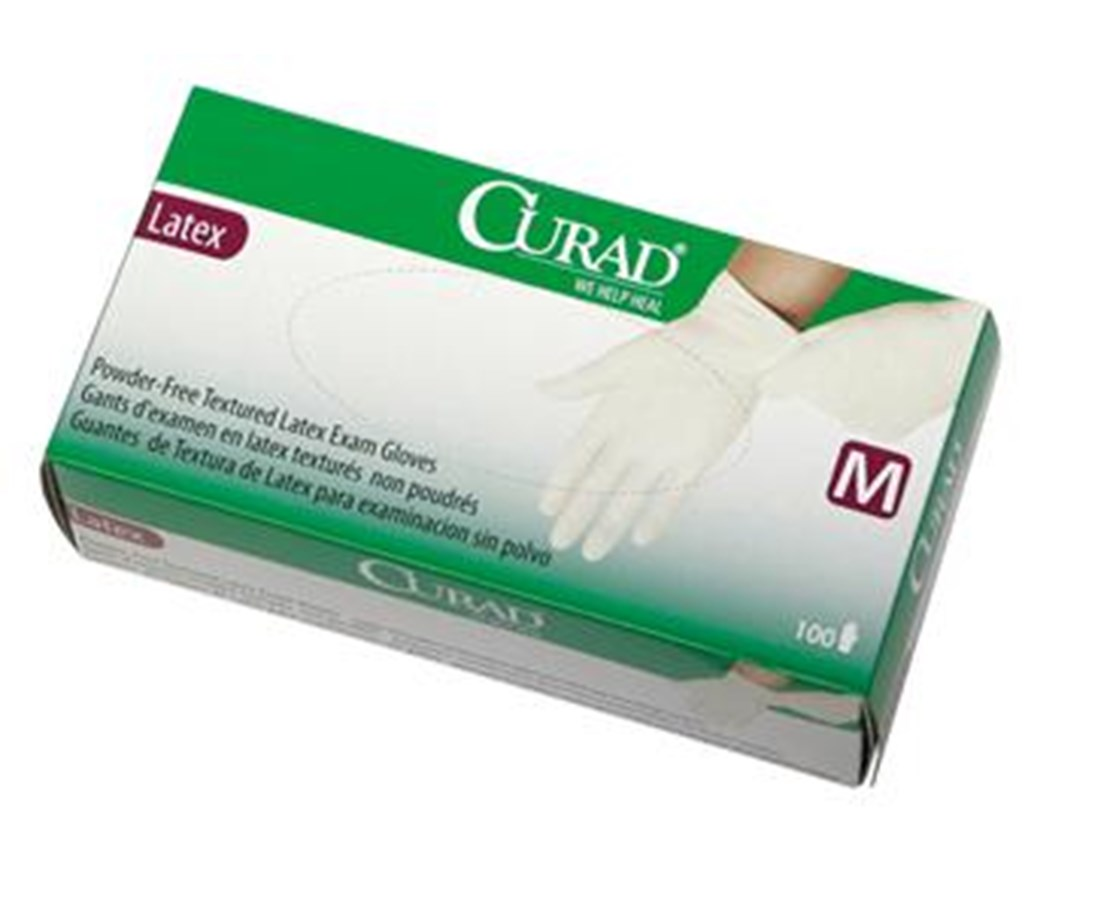 Powder-Free Latex Exam Gloves CURCUR8104H-