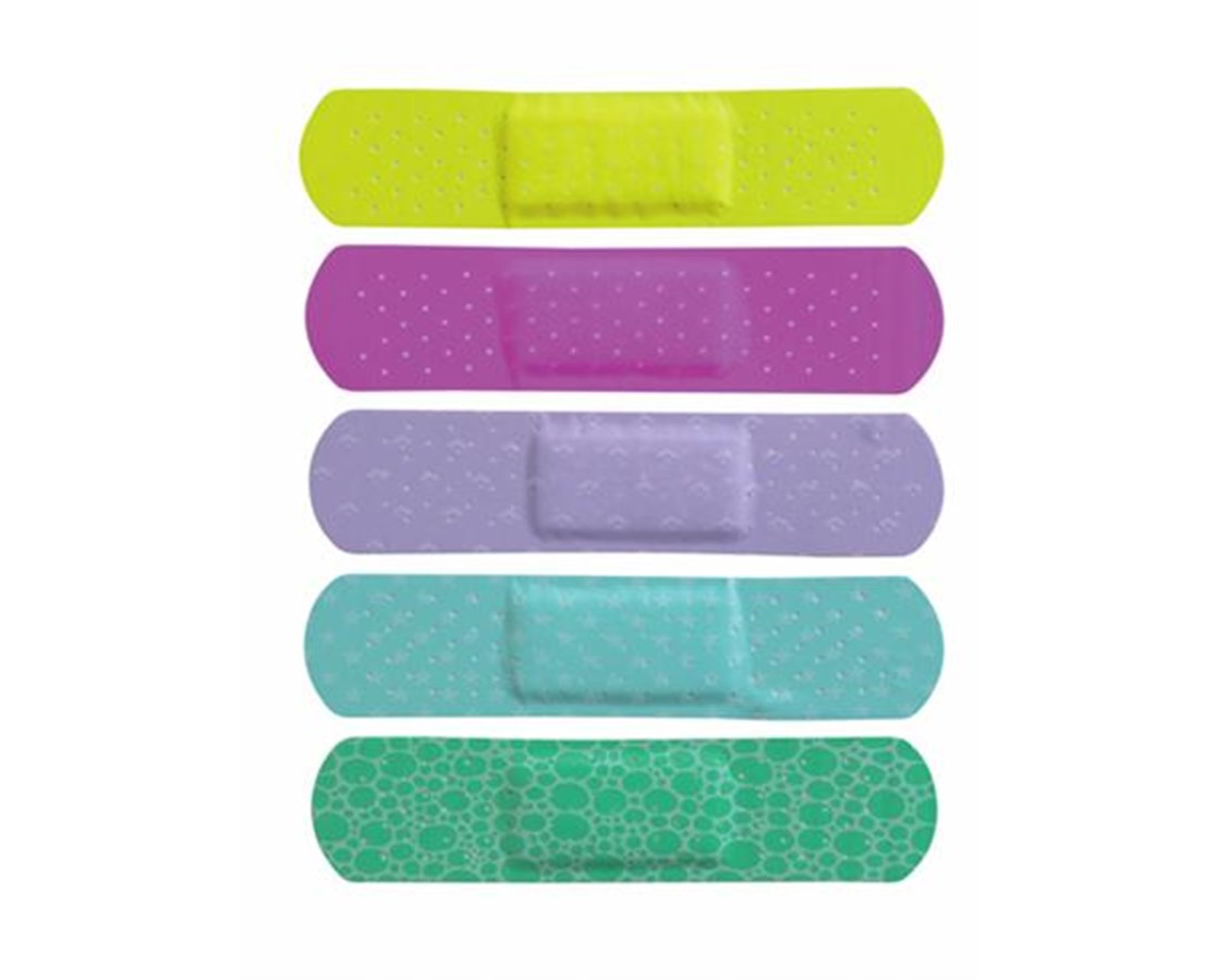 Neon Adhesive Bandages CURNON25613Z-