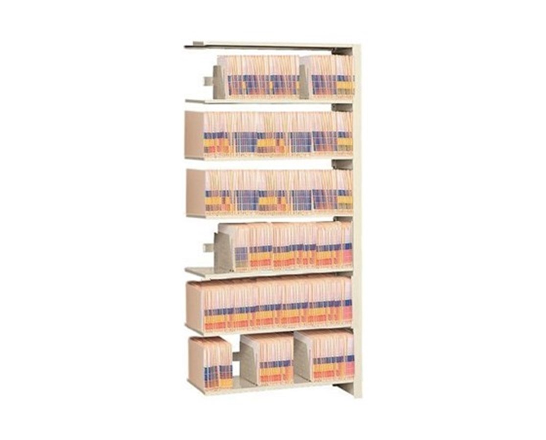 "4 Post Double Entry Add-On Shelving 85-1/4"" High, 6 to 8 Tiers DAT852424-A8M-"