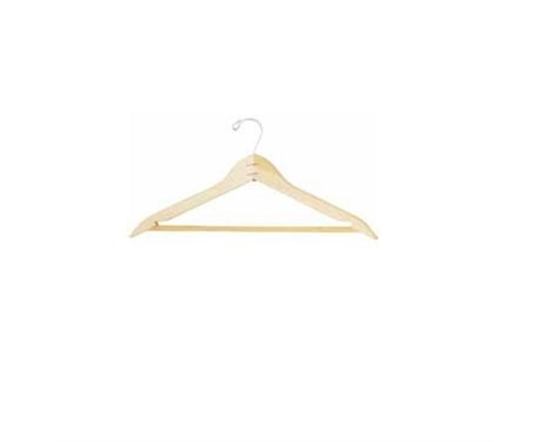 Wood Waxed Hanger - Open Hook DAT960