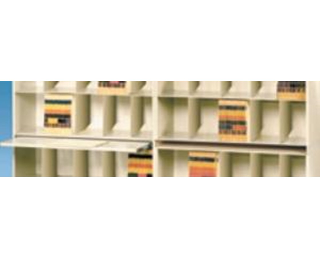 VuStak Posting Shelf for X-Ray Size Shelving with Straight Tiers DATD2418SOPS-