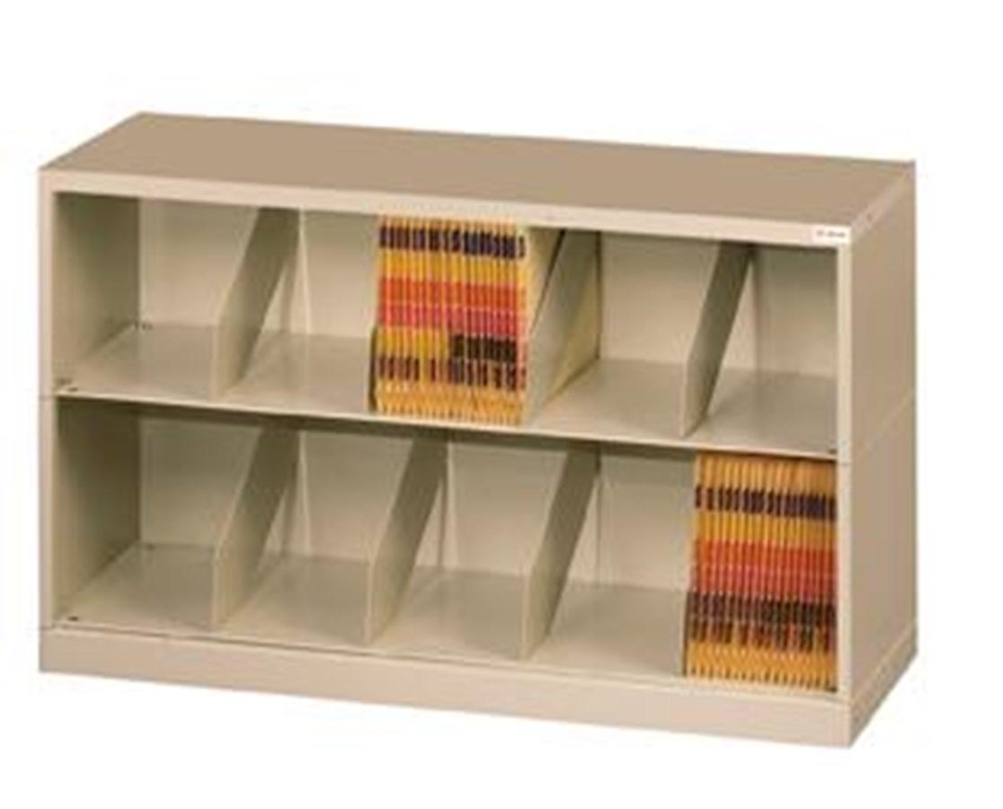 ThinStak™ Open Shelf Filing System - 2 Tiers Copy DATSO24LT-2 + DATSO24BT-2LTT-COPY