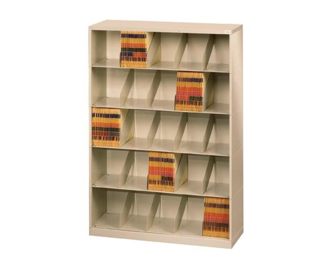 ThinStak™ Open Shelf Filing System - 5 Tiers Copy DATSO24LT-5 + DATSO24BT-2LTT-COPY