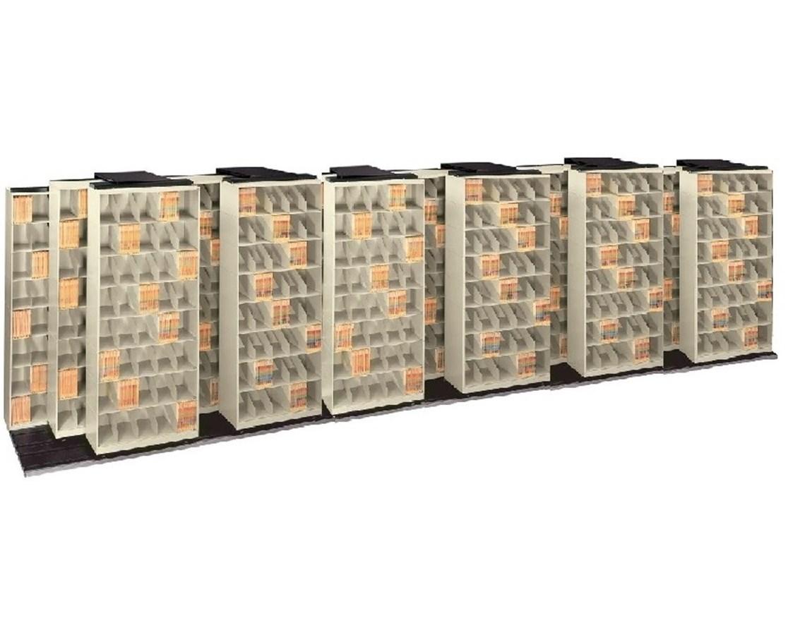 ThinStak TriSlider Filing System 19 Units - 7/6/6 DATT676LT7