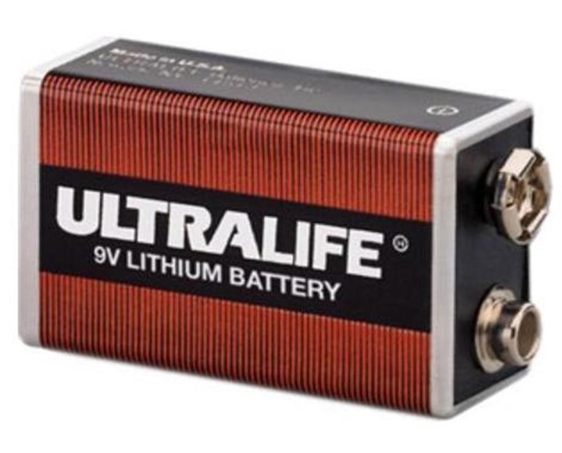 9V Lithium Battery DEFDAC-410