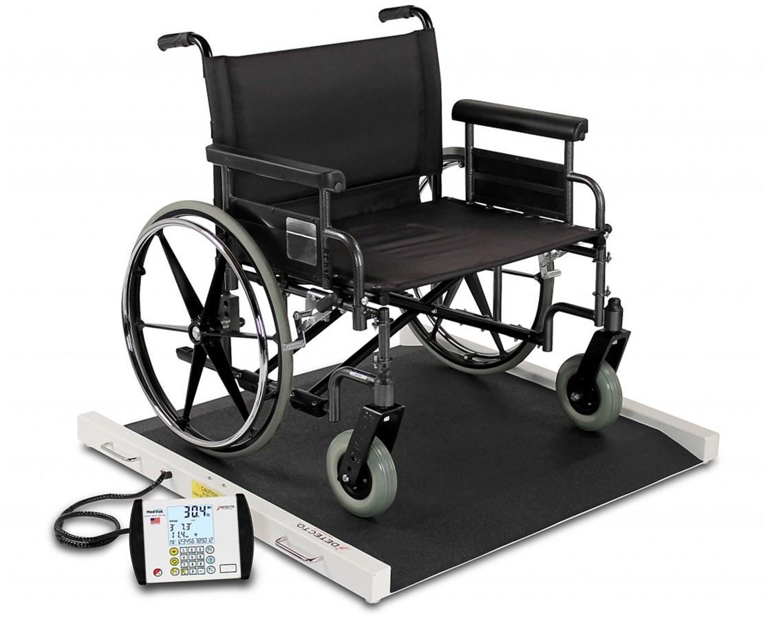 Portable Bariatric Wheelchair Scale DETBRW1000