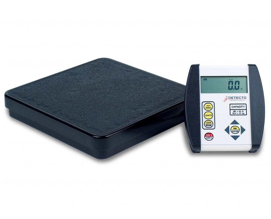 Digital Floor Scale with Body Mass Index DETDR400-750