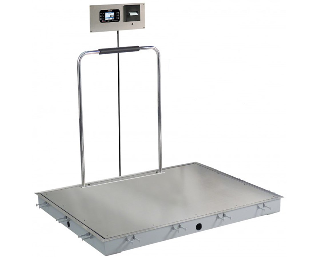 Solace In-Floor Dialysis Scale DETID-3636S-855RMP-