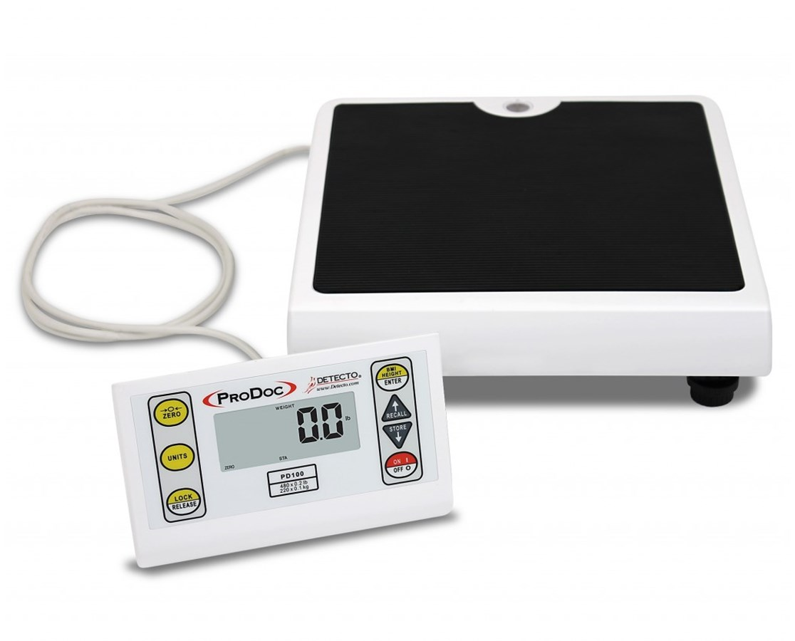 ProDoc® Low-Profile Scale with Remote Display DETPD100