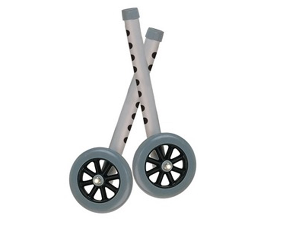 """Extended Height 5"" Walker Wheels and Legs Combo Pack"" DRI10108WC"