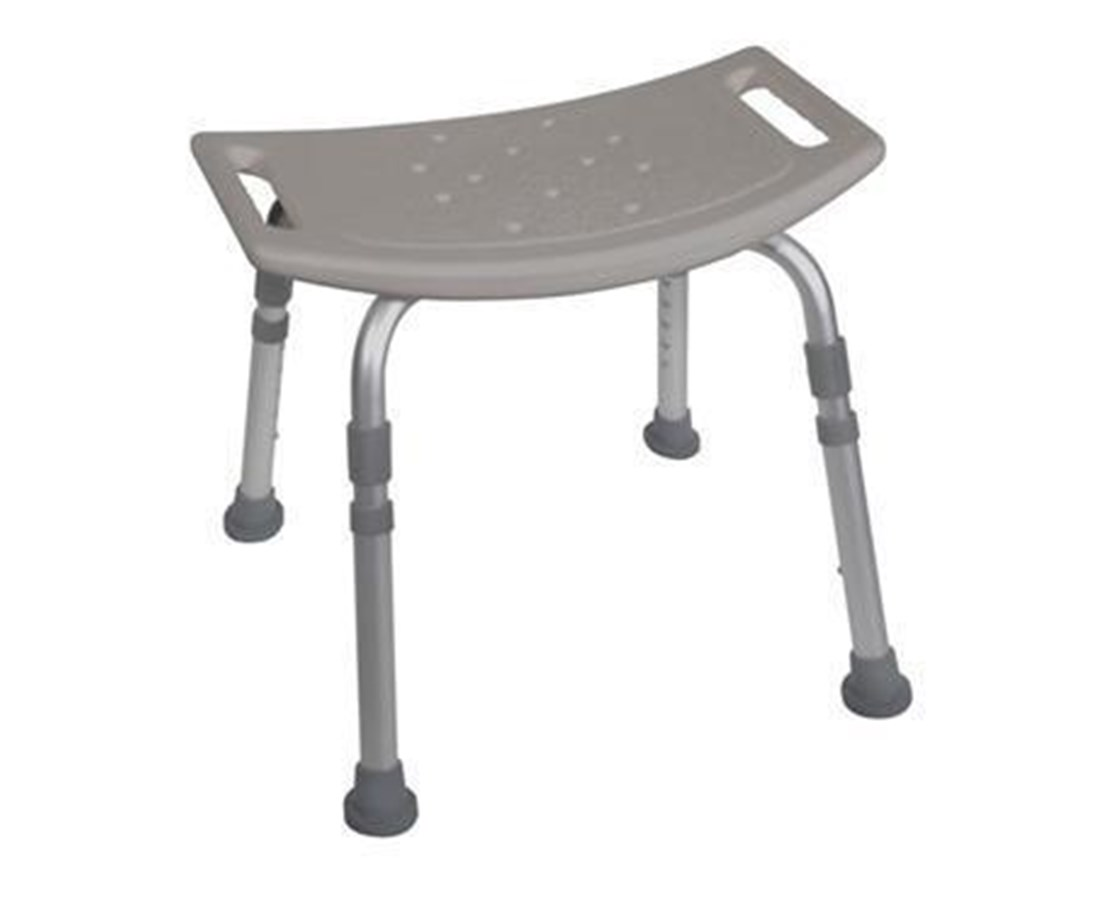 Drive 12203KDR Deluxe Aluminum Backless Shower Bench