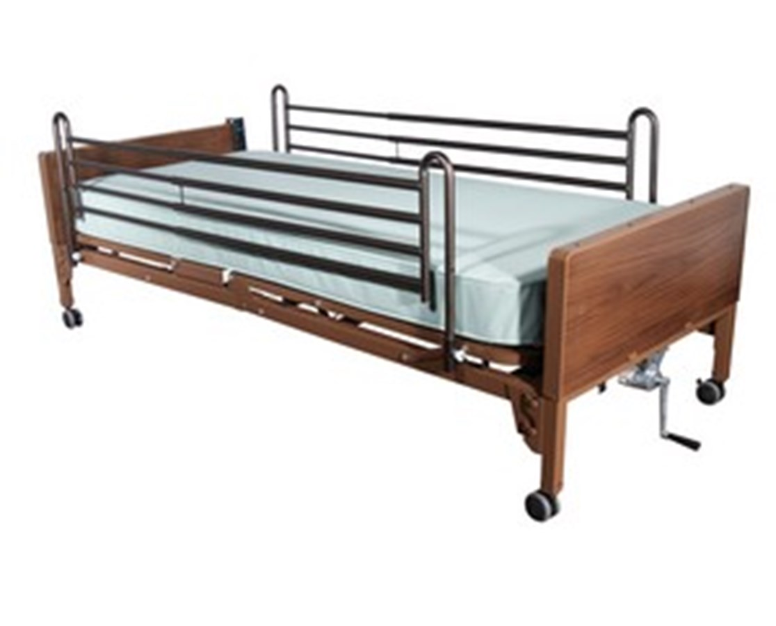 Full Length Hospital Bed Side Rails DRI15001ABV