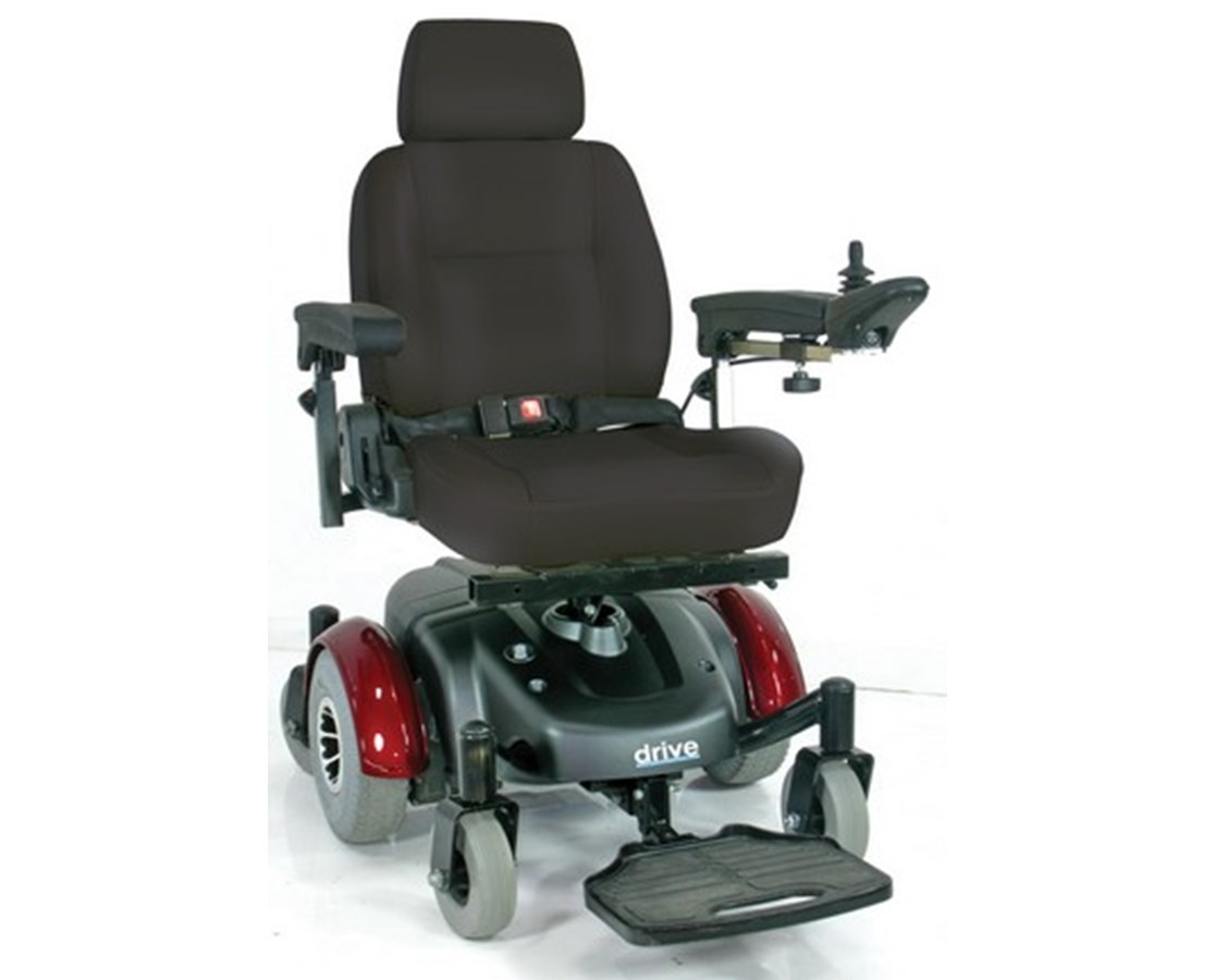 Drive 2800ECBU-RCL Image EC Mid-Wheel Drive Power Wheelchair