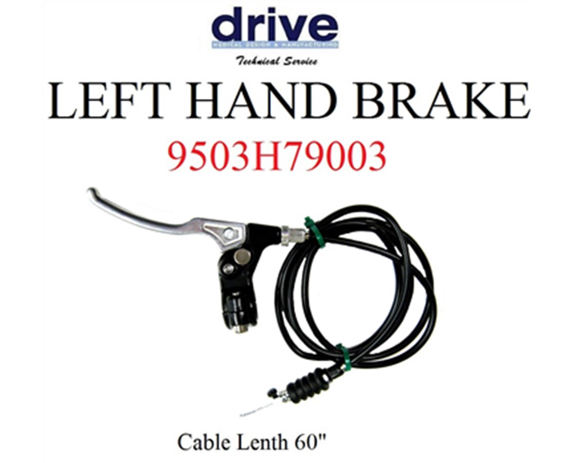 Right Brake Complete Handle for 790 Knee Walker DRI9503H79004