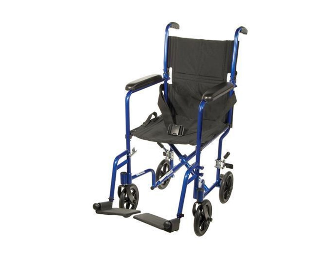 Drive ATC17-BL Lightweight Transport Wheelchair